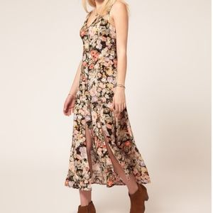Minkpink Floral Button Down Maxi